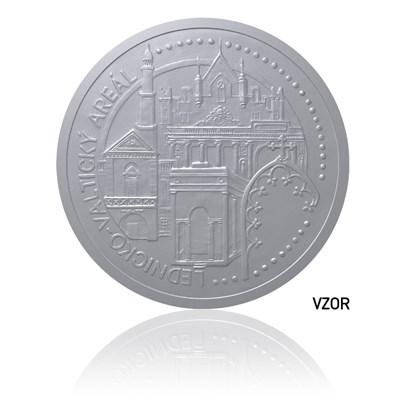 Platinová mince Lednicko-valtický areál