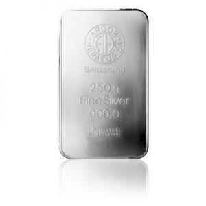 Investiční stříbrná cihla 250 g
