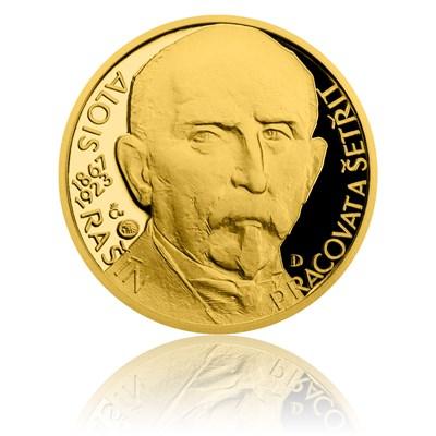 Zlatý dukát Národní hrdinové - Alois Rašín proof