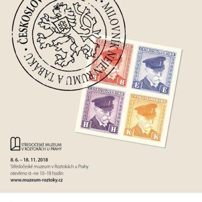 Výstava kolků a mincí v Roztokách u Prahy