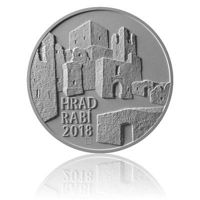 Zlatá mince 5000 Kč 2018 Rabí proof