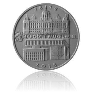 Stříbrná mince 200 Kč 2018 Založení Národního muzea proof