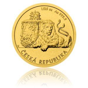 investiční mince Český lev