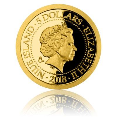 Reverzní strana mince Svatá Barbora