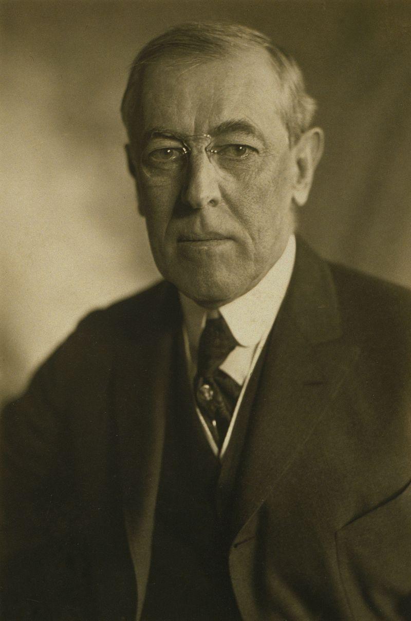 Prezident Woodrow Wilson