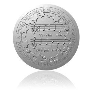 Stříbrná medaile Vánoční koleda - Tichá noc