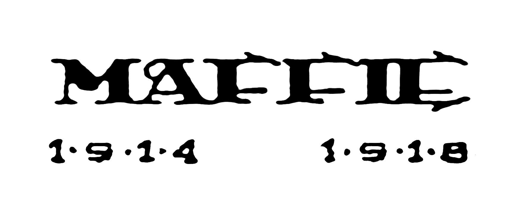 Znak odbojové organizace Maffie