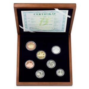 Sada oběžných mincí 2018
