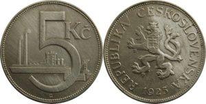 Československá koruna první republiky