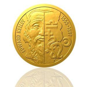 Zlatá mince Edward Kelley