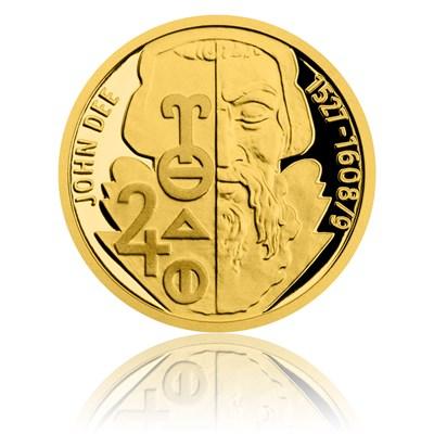Zlatá mince John Dee