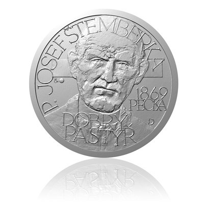Stříbrná medaile Národní hrdinové - Josef Štemberka
