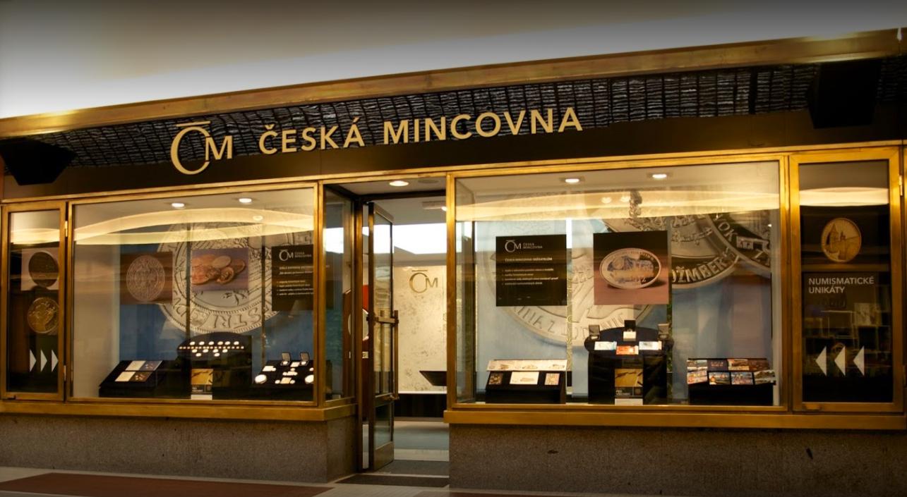 Prodejna Praha Česká mincovna
