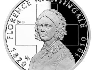 Medaile Děkujeme nese portrét patronky ošetřovatelů