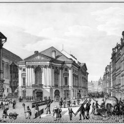 Původní podoba Stavovského divadla